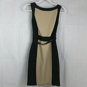 BCX Classic Black Color-Block Dress 7
